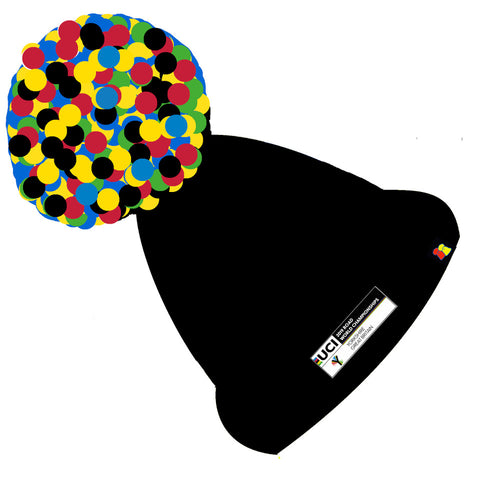 Yorkshire 2019 UCI Logo Big Bobble Hat - Pre Order