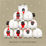 Charity Christmas Cards - Christmas Sheep (Alzheimer's Society)
