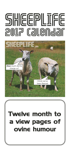 Sheeplife Calendar 2017-REDUCED FURTHER