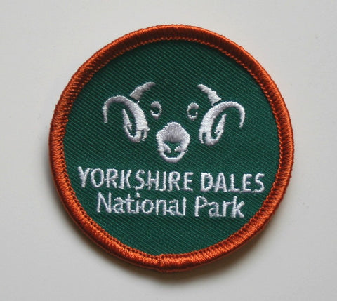 Yorkshire Dales Woven badge