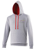 Three Peaks Contrast Hoodie (other colours are available).