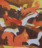 Red Squirrel Card - by Julia Garner