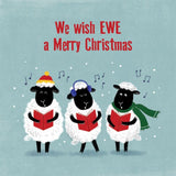 Charity Christmas Cards - We Wish Ewe A Merry Christmas (Perennial)