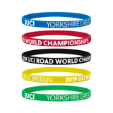 Yorkshire 2019 UCI Logo Wristband - REDUCED