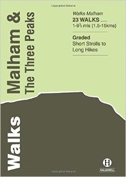 Walks Malham & Three Peaks by Richard Hallewell (author)