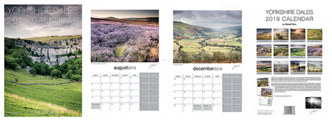 Yorkshire Dales 2019 Calendar by David Tarn