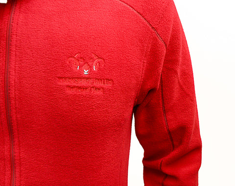 Regatta Adamsville Full Zip Fleece with Yorkshire Dales National Park logo