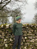 Yorkshire Dales National Park Sweatshirt - Forest Green. WAS £20, NOW £14