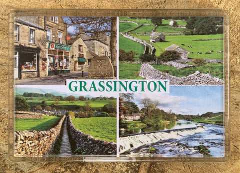 Image shows four different views of Grassington.