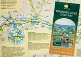 Harvey Maps Yorkshire Dales Cycle Way