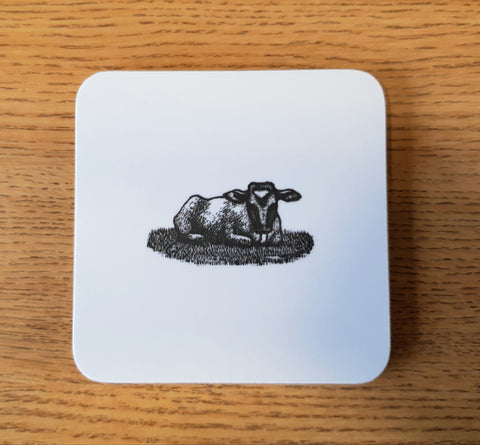 Marie Hartley Calf Coaster
