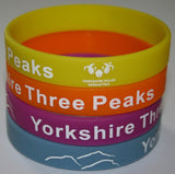 Three Peaks Wristbands.  LIMITED STOCK