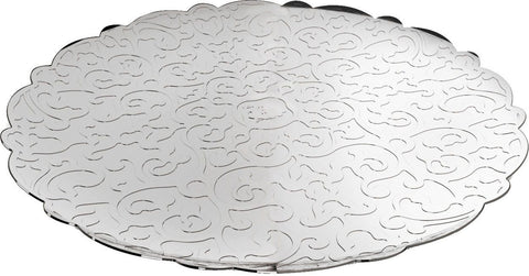 MARCEL WANDERS ROUND TRAY WITH RELIEF DECORATION 35CM