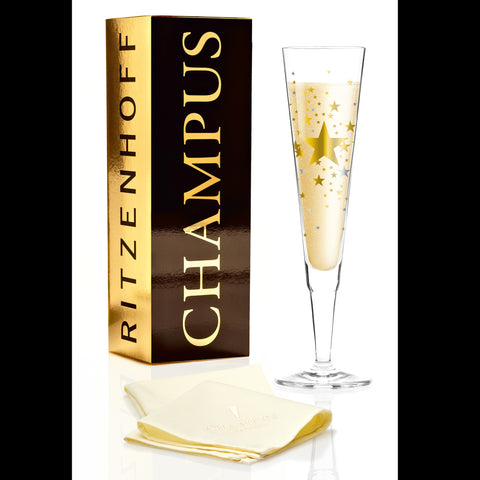 Champus champagne glass E. Wittefeld  2016 S