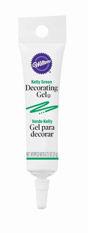 Decorating Gel Tube - Kelly Green