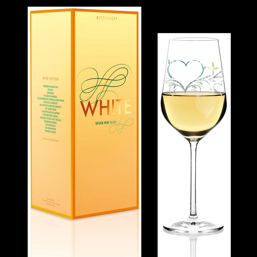White wine glass Kurz Kurz Design (Herz) F14