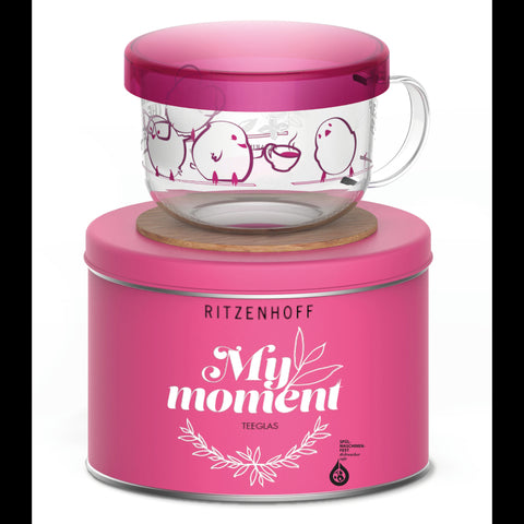My Moment tea glass