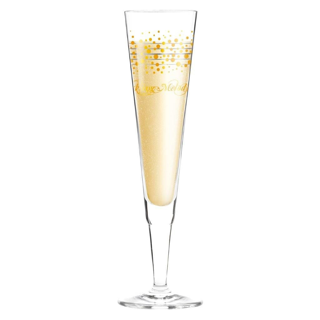 Champagne Glass V. Design