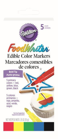 Foodwriter Makers 5 Pack - Bold