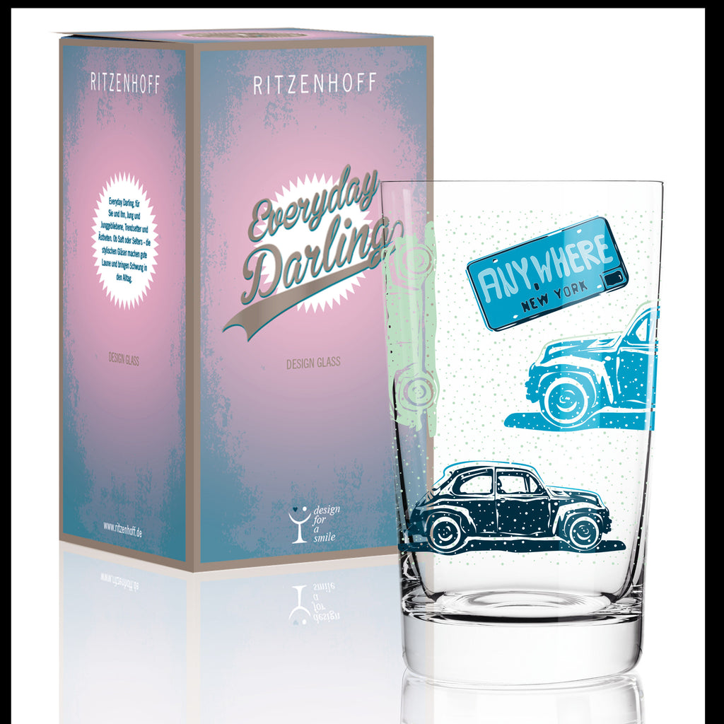 Everyday Darling softdrink glass Y. So (car) F16