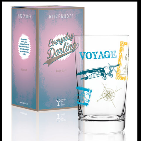 Everyday Darling softdrink glass A.Wilson(voyage)F