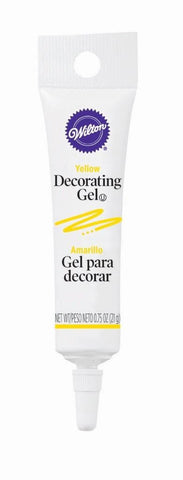 Decorating Gel Tube - Yellow