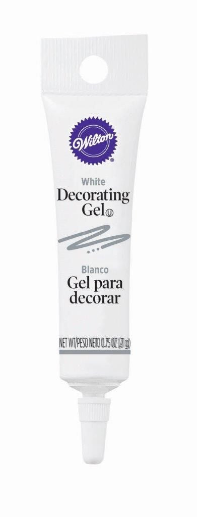 Decorating Gel Tube - White