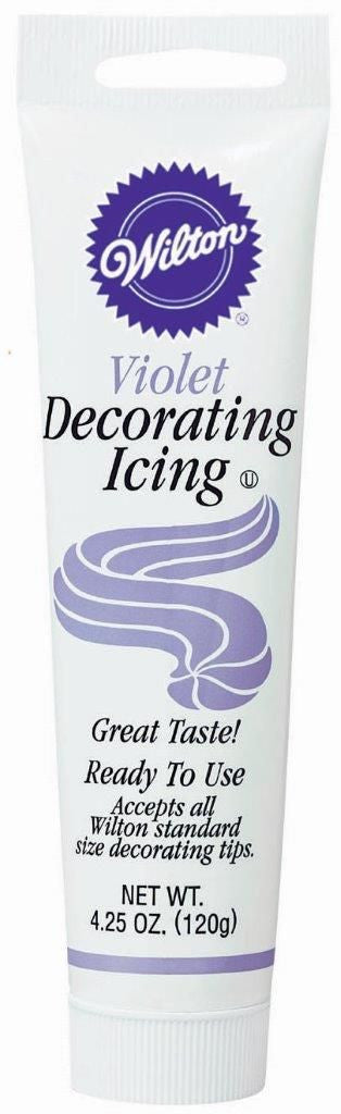 Decorating Icing Tube - Violet