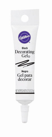 Decorating Gel Tube - Black