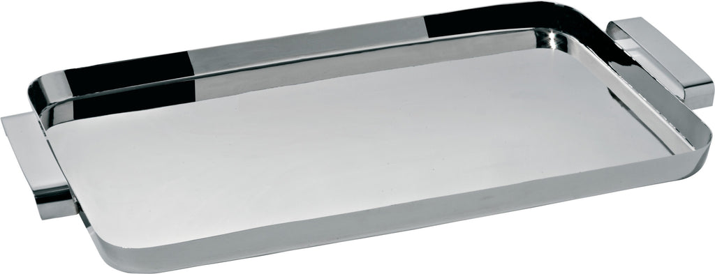 TAU RECTANGULAR TRAY WITH HANDLES