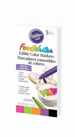 Foodwriter Makers 5 Pack - Neon