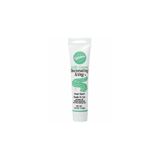 Decorating Icing Tube - Kelly Green