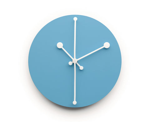 Dotty Clock Turquoise