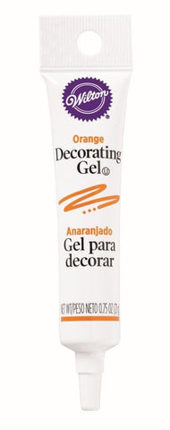 Decorating Gel Tube - Orange