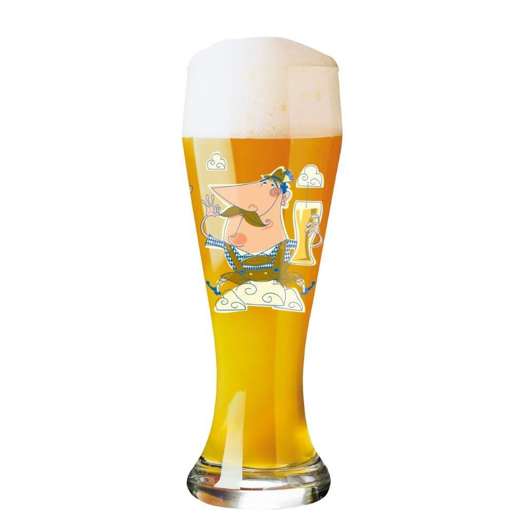 Wide Beer Glass J. Bazing