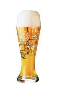 Wide Beer Glass Potts