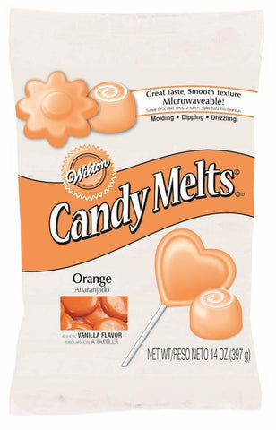 W-Intl orange candy melts