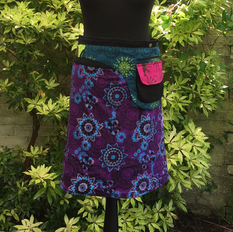 Sold out Mini Skirt Purple