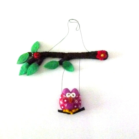 Felt Owl Mobile, Best Friends Forever