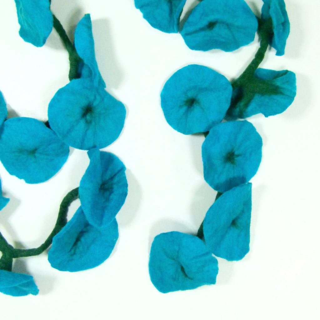 Turquoise, Flower Garland