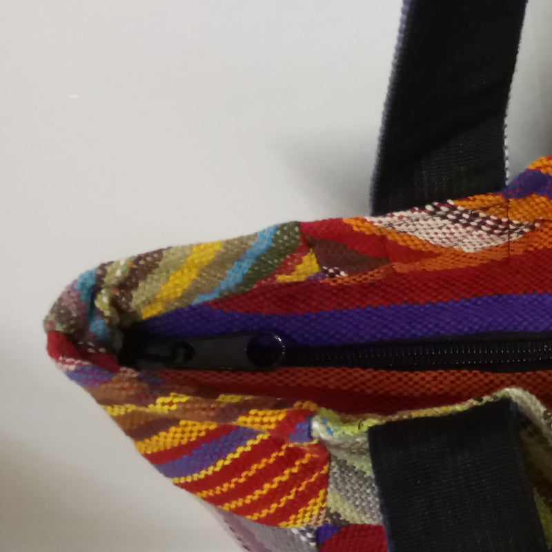 NEW! Rainbow Patchwork Shoulder Bag