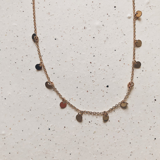 Meta necklace | Gold