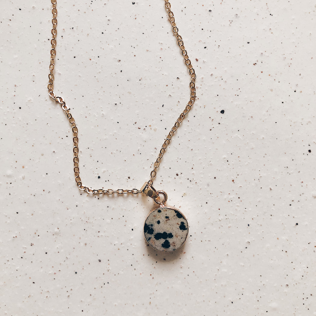 Renai necklace | Dalmatian