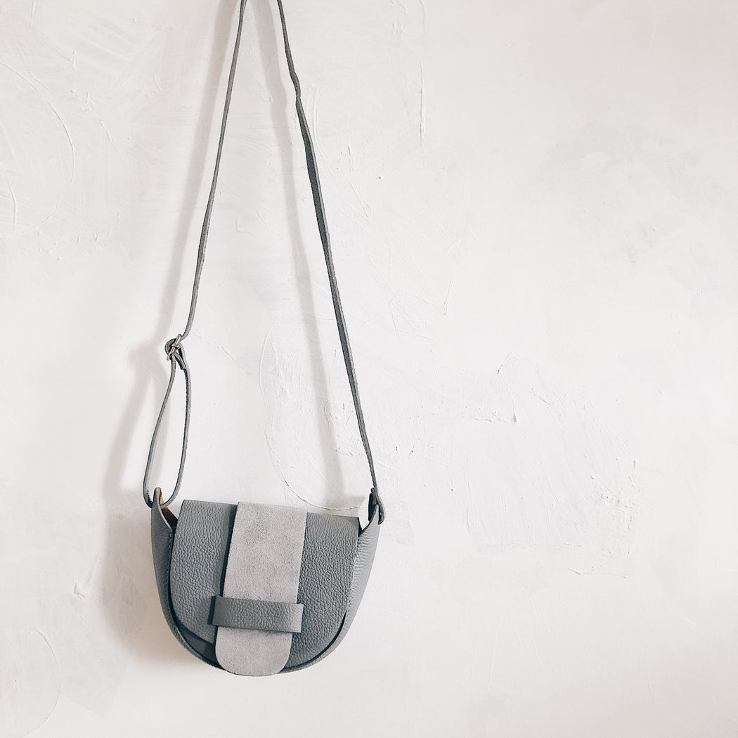 Essen leather bag | dove