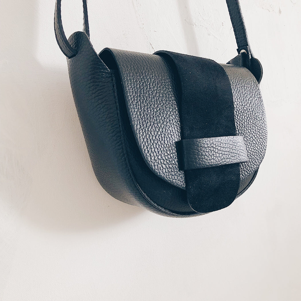 Essen leather bag | Black