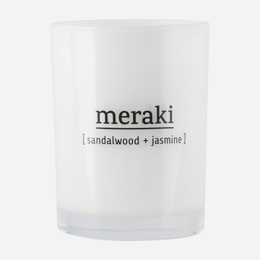Meraki candle | large | Sandalwood + Jasmine