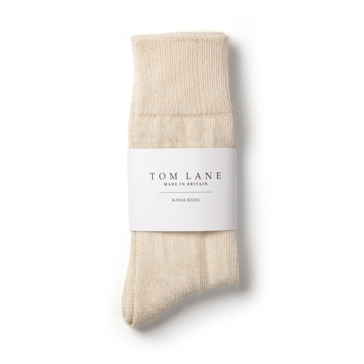 Alpaca socks | cream