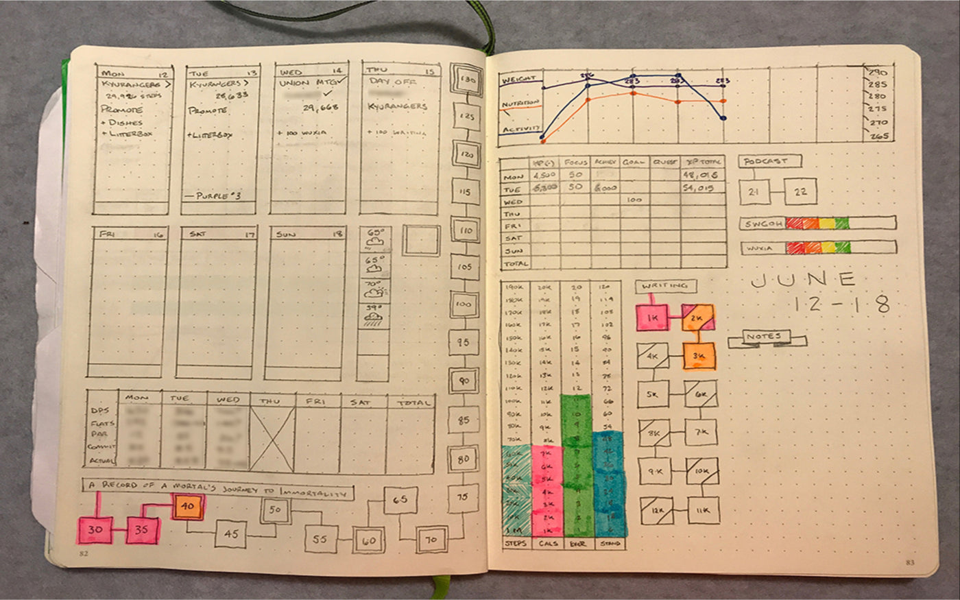 BuJo RPG - Bullet Journal