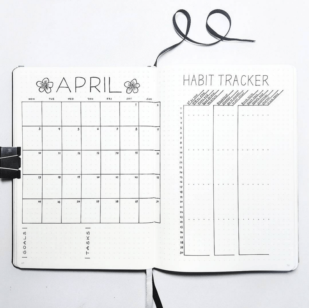 photo regarding Bullet Journal Monthly Calendar Printable called Month to month Logs - Bullet Magazine