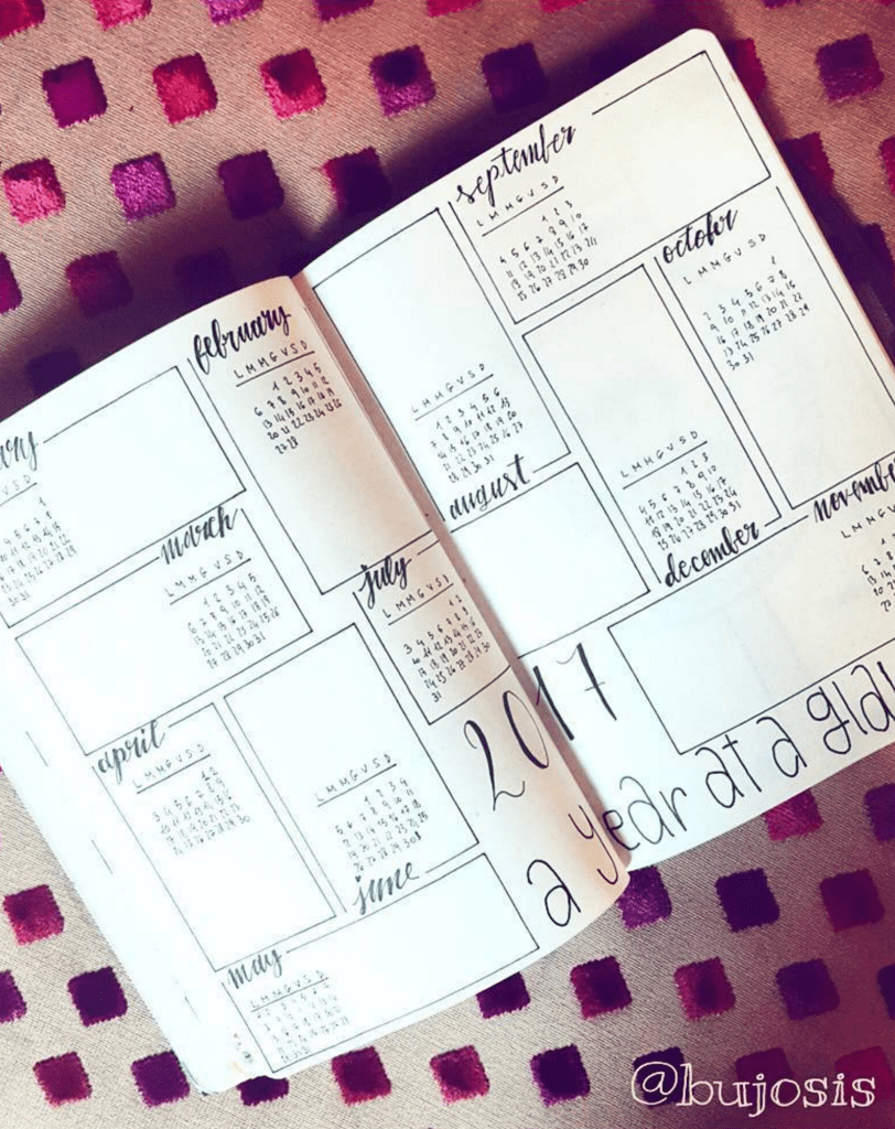 Formen Magazine Calendario 2020.Future Logs Bullet Journal